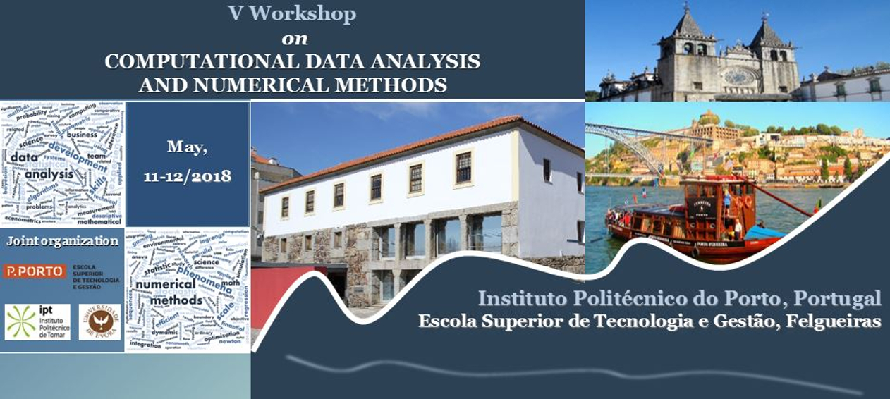 V Workshop on Computational Data Analysis and Numerical Methods
